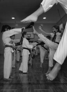 trening dzieci.